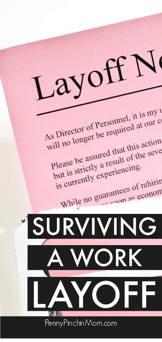 surviving a layoff